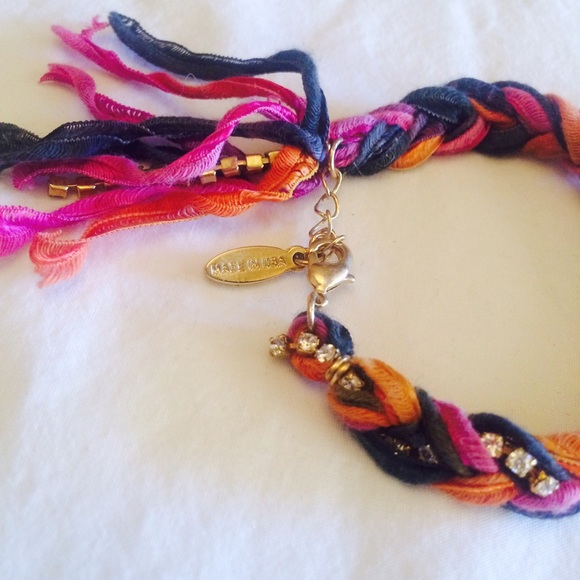 💕HOST PICK! •• Woven Ribbon Bracelet