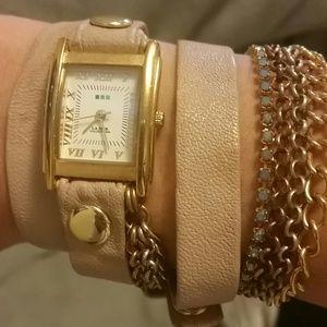 LA MER wrap watch-bracelet