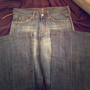 NEVER worn, NEVER WASHED, 7FAM dojo Jean