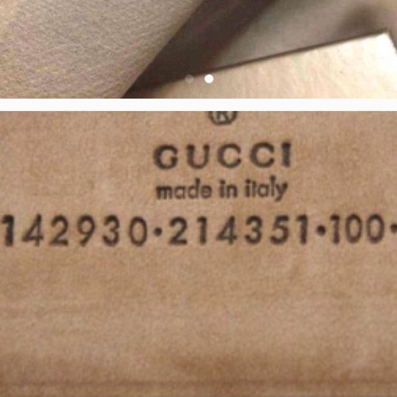 Gucci Serial Number Check