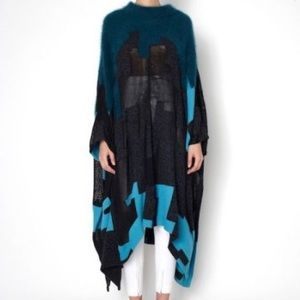 3.1 Phillip Lim Oversized Knit Pancho