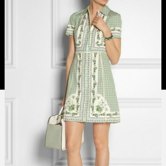 faab09d578 Authentic Tory Burch Talia Poplin Shirt dress. M_54f61541291a35578e01ec9f