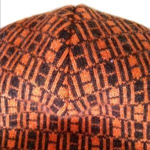 8268d6c1797 Hermes Accessories - Authentic Hermes Cashmere Orange Brown