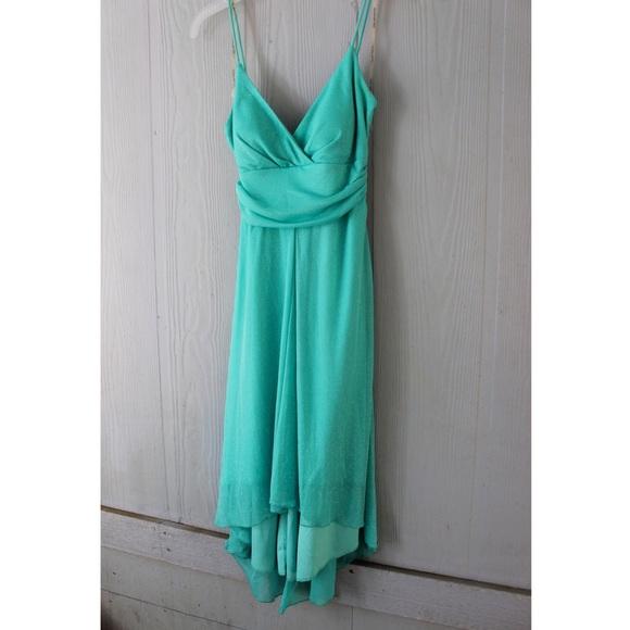 3db503bb City Triangles Dresses | Aqua Sparkle Dress | Poshmark