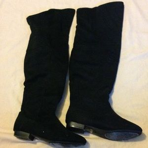 Knee high boots, size 6.5
