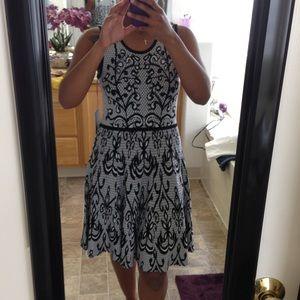NWT Black/white dress