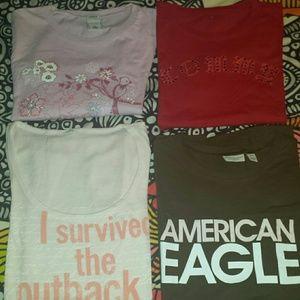 Bundle Assortment of tshirts