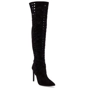 Jeffrey Campbell Galon Over The Knee Boot
