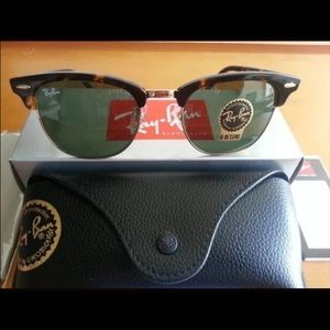 ray ban clubmaster blue mirror 7l15  Ray ban Clubmaster Qty:6