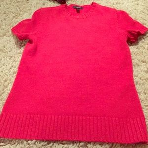 Red Lands End Sweater