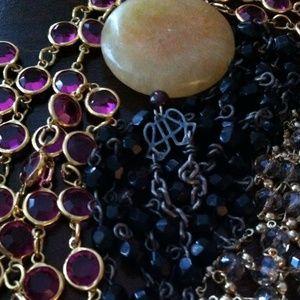 Fine Jewelry Bonanza! Sterling with gems.