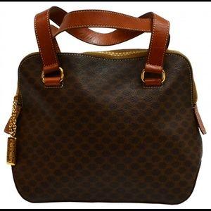 celine yellow luggage tote - 52% off Celine Handbags - SOLD***Vintage Celine Macadamia Monogram ...
