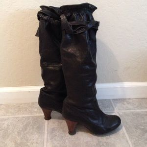 Jeffrey Campbell zulliman slouch black boots