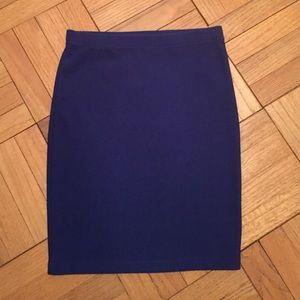 Forever 21 Textured Bodycon Skirt