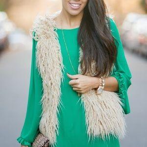 Willow & Clay Fur Vest