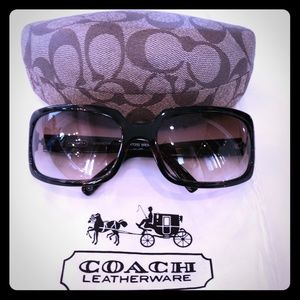 Coach sunglasses Samantha Tortoise Brown 