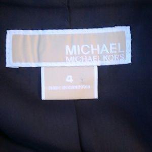 Brown Micheal Kors Blouse Jacket