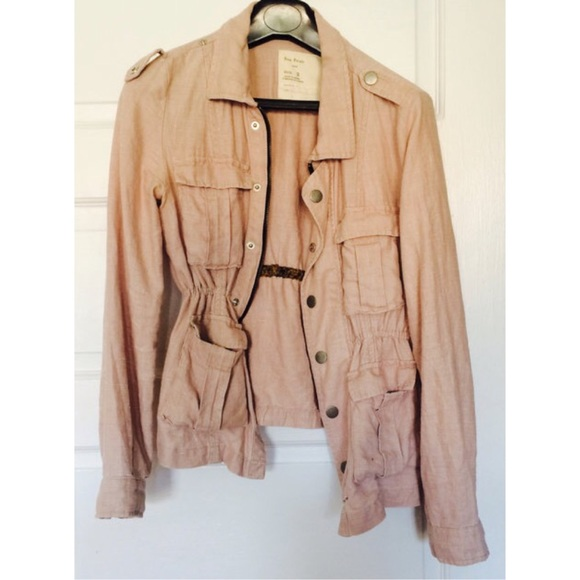50% off Free People Jackets & Blazers - Free people pink military ...