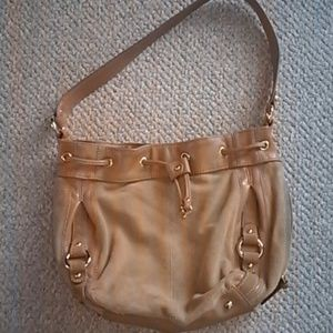 Tignanello Suede Drawstring Shoulder Bag 29