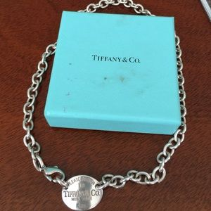 Tiffany & Co. Jewelry - Authentic Tiffany Necklace!