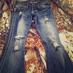 Dollhouse boot cut jeans