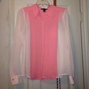 Peach/Pink blouse