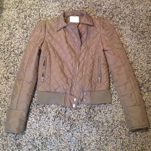 Delias Quilted Motorcycle Style Coat