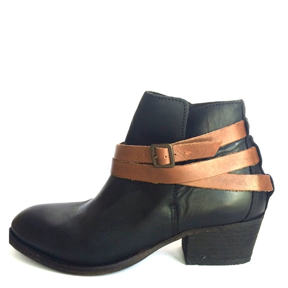 41 madewell shoes madewell wrap black leather ankle