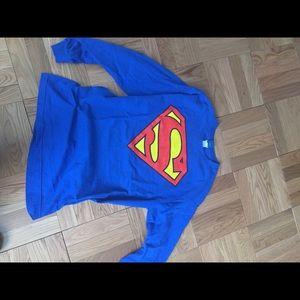 Tops - Superman long sleeve