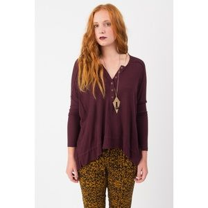 Free People Buttoned Top *NEW*