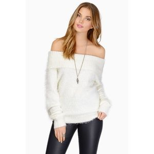 TOBI Fuzzy Wishful Thinking Sweater
