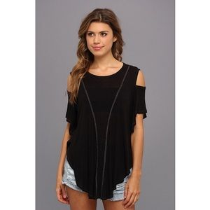 Free People Cold Shoulder Top *NEW*