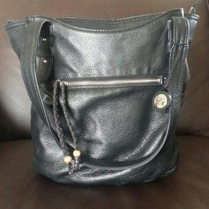 The Saks genuine leather bag