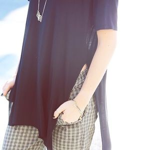 Brandy Melville Helen Slit Top *NEW*