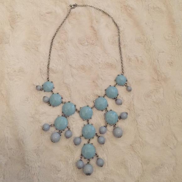 0510660beb4925 Jewelry | Light Blue Bubble Necklace | Poshmark