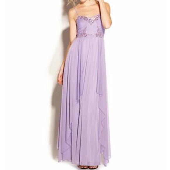 Dresses | Lavender Prom Dress From Macys | Poshmark