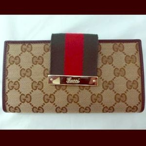GUCCI Continental Wallet - Authentic