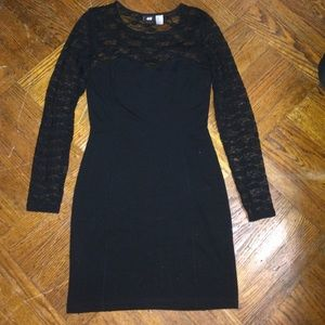 H&M black dress