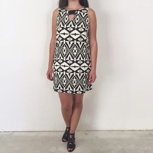 NWOT Black & White Dress