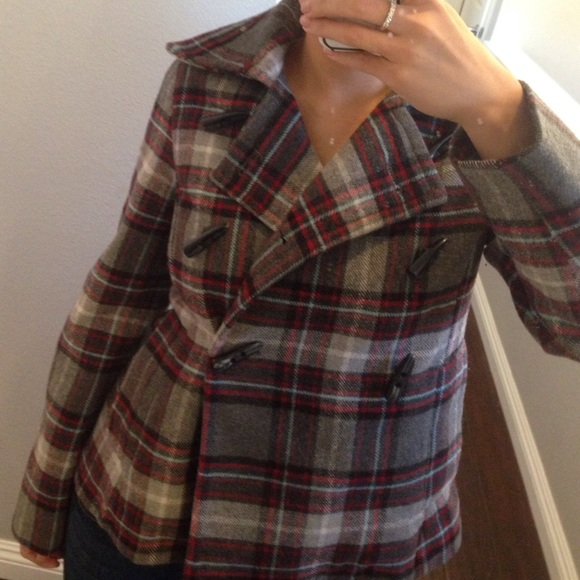 Old Navy Jackets & Blazers - Old navy plaid jacket