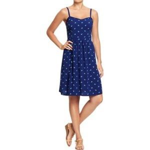 Old Navy Dresses & Skirts - Old Navy Blue floral print dress