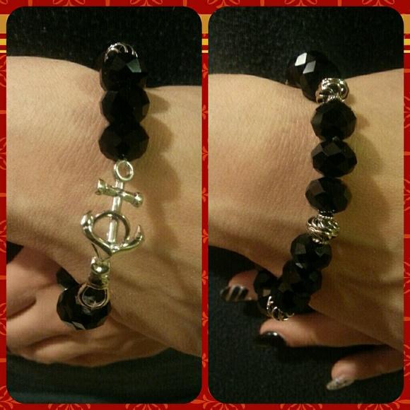 Custom Made Jewelry - Crystal Bracelet