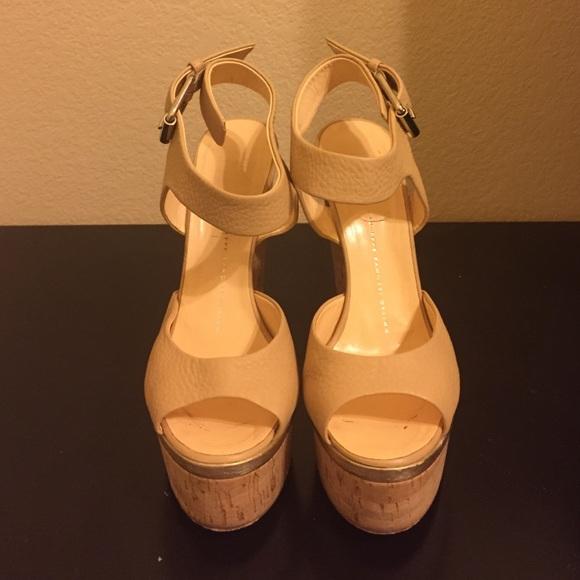 aa35b08076de Giuseppe Zanotti Shoes - Giuseppe Zanotti Ankle-Wrap Cork-Wedge Sandals