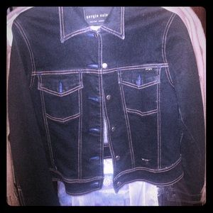 Sergio Valente jean jacket flash sale
