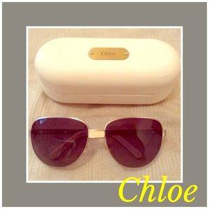 CHLOE Aviator Sunglasses