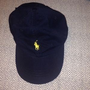 Polo by Ralph Lauren Accessories - Navy blue polo hat 0f88837e651