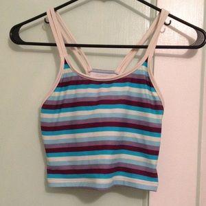 Patagonia Other - Patagonia striped bathing suit top