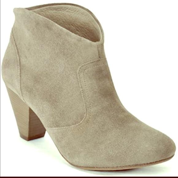 aldo suede khaki ankle boots from ammz s closet on poshmark