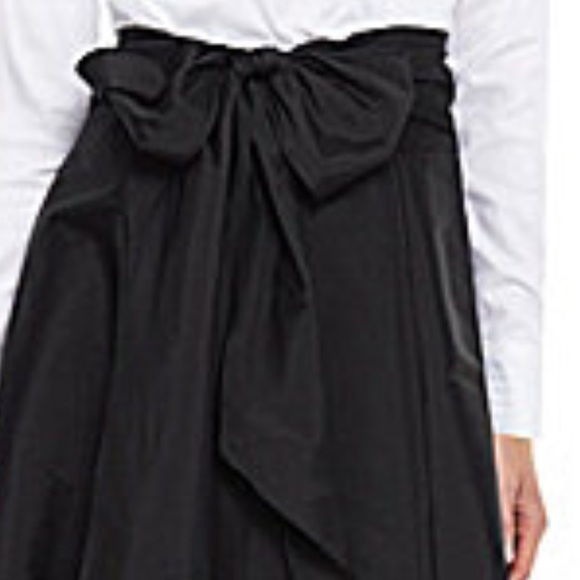 41% off Adrianna Papell Dresses & Skirts - High low black taffeta ...