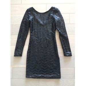 Sequin dress : LBD